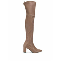 Stuart Weitzman Bota Over The Knee Lesley 75 - Neutro