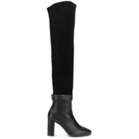 Stuart Weitzman Bota Over The Knee 'luna Hybrid Bama' - Preto