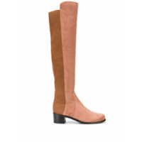 Stuart Weitzman Bota Over The Knee - Marrom