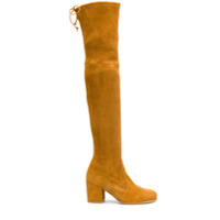 Stuart Weitzman Bota Over The Knee - Neutro