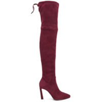 Stuart Weitzman Bota Over The Knee - Roxo