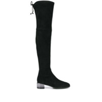 Stuart Weitzman Charolet Over-The-Knee Boots - Preto
