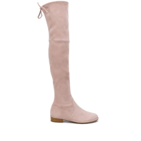 Stuart Weitzman Lowland Over-The-Knee Boots - Neutro