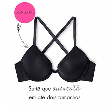 Sutiã Super Push Up Microfibra Comfy