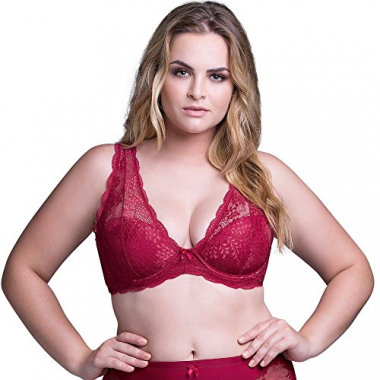 Sutiã Top Plus Renda Cereja| 534.183 Cereja - 44