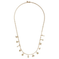 Sydney Evan 14Kt Yellow Gold Tiny Multi Pure Charm Necklace