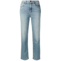 T By Alexander Wang Cropped Straight Leg Jeans - Azul