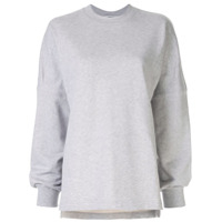 T By Alexander Wang Dry French Terry Sweatshirt - Cinza