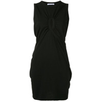 T By Alexander Wang High Twist Jersey Dress - Preto