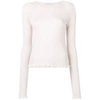 T By Alexander Wang Jersey Knitted Top - Rosa
