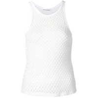 T By Alexander Wang Regata Com Mesh - Branco