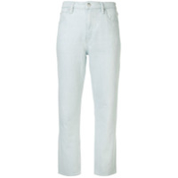 T By Alexander Wang Straight Fit Jeans - Azul