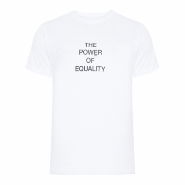 T-Shirt Eco Rust Equality - Branco
