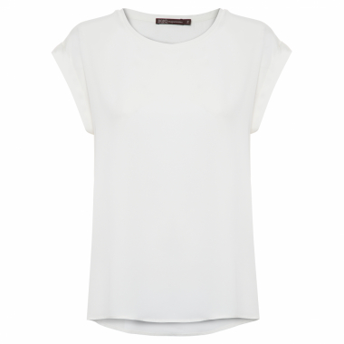 T-Shirt Feminina Basic - Off White