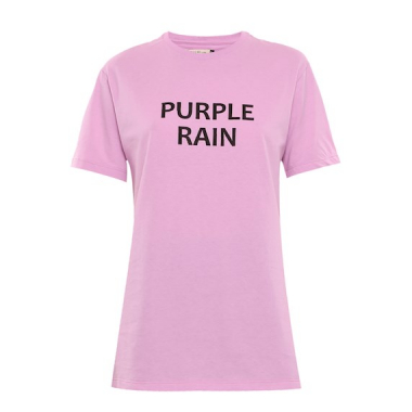 T-Shirt Malha Purple Rain