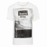 T-SHIRT MASCUILINA RG THE PLACE - OFF WHITE