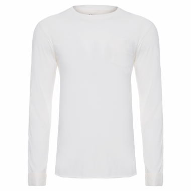 T-Shirt Masculina Pocket Yoke - Off White