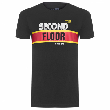 T-Shirt Masculina Sega Second - Preto