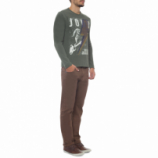 T-shirt Masculina The Drums - Verde