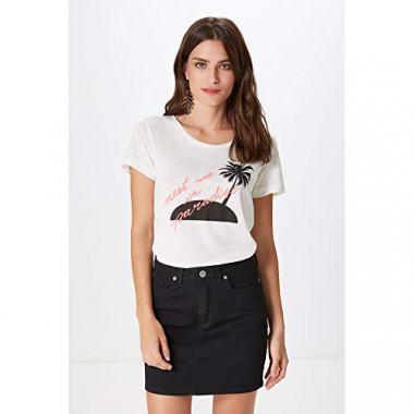 T Shirt Meet Me In Paradise-Off White - G