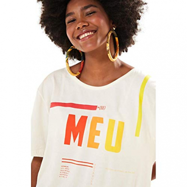 T-Shirt Meu Off White - P