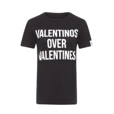 T-Shirt Valentinos Over Valentines T-Shirt Factory - Preto