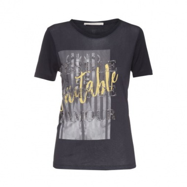 T-Shirt Veritable Animale - Preto