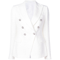 Tagliatore Alicya Fitted Jacket - Branco
