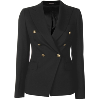 Tagliatore Double Breasted Blazer - Preto
