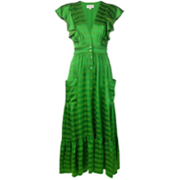 Temperley London Vestido 'gaia' - Verde