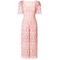 Temperley London Macacão 'amelia' - Rosa