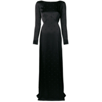 Temperley London Vestido Longo 'betty' - Preto