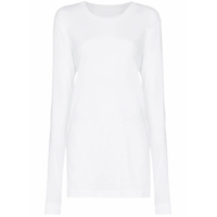 Ten Pieces X Rude Twist Stitch Long Sleeved T-Shirt - Branco