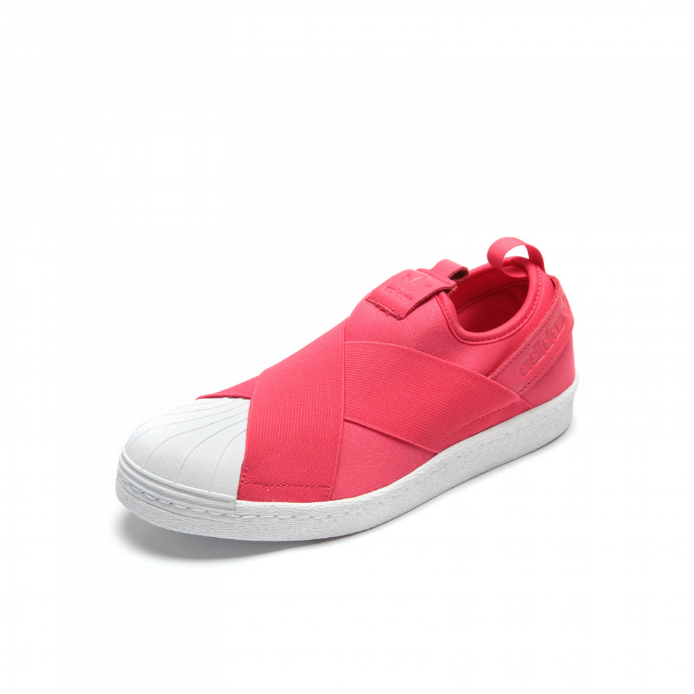 21af17e598 Tênis adidas Originals Superstar Slip On Rosa Branco