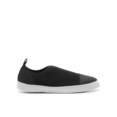 Tênis Feminino Super Light Neoprene Low Top - Preto