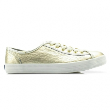 Tênis Keds Kickstart Shine Leather-Feminino
