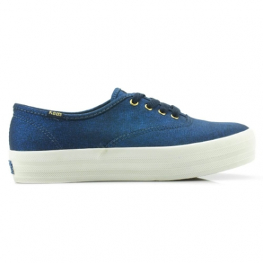 Tênis Keds Triple Metalic Canvas-Feminino