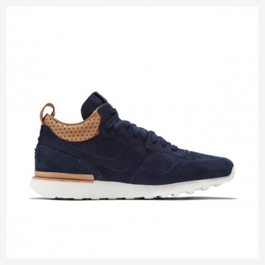 Tênis Nikelab Internationalist Mid Royal Masculino