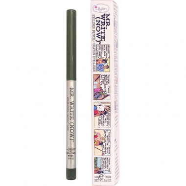 the Balm Lápis de Olho Mr. Write Now Wayne B. Olive 0,28g