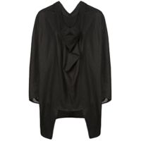 The Celect Blusa Estilo Poncho - Preto