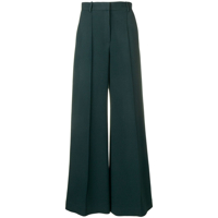 The Row Calça Flare De Alfaiataria - Green