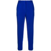 Theory Cropped Slim-Fit Trousers - Azul