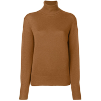 Theory Suéter Em Cashmere Cropped - Marrom