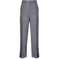 Theory Tailored Cropped Trousers - Roxo