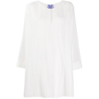 Thierry Colson Blusa Oversized Flare - Branco