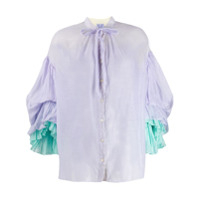 Thierry Colson Blusa Tricolor 'rayne' - Roxo