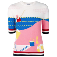 Thom Browne Beach Day Sweater - Rosa