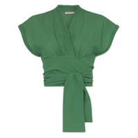 Three Graces Blusa Cropped 'serena' - Verde