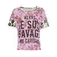 Tig T-Shirt 'alert Dominique' - Estampado