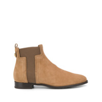 Tod's Ankle Boot Com Recortes - Neutro